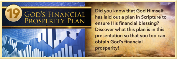God's Financial Prosperity Plan